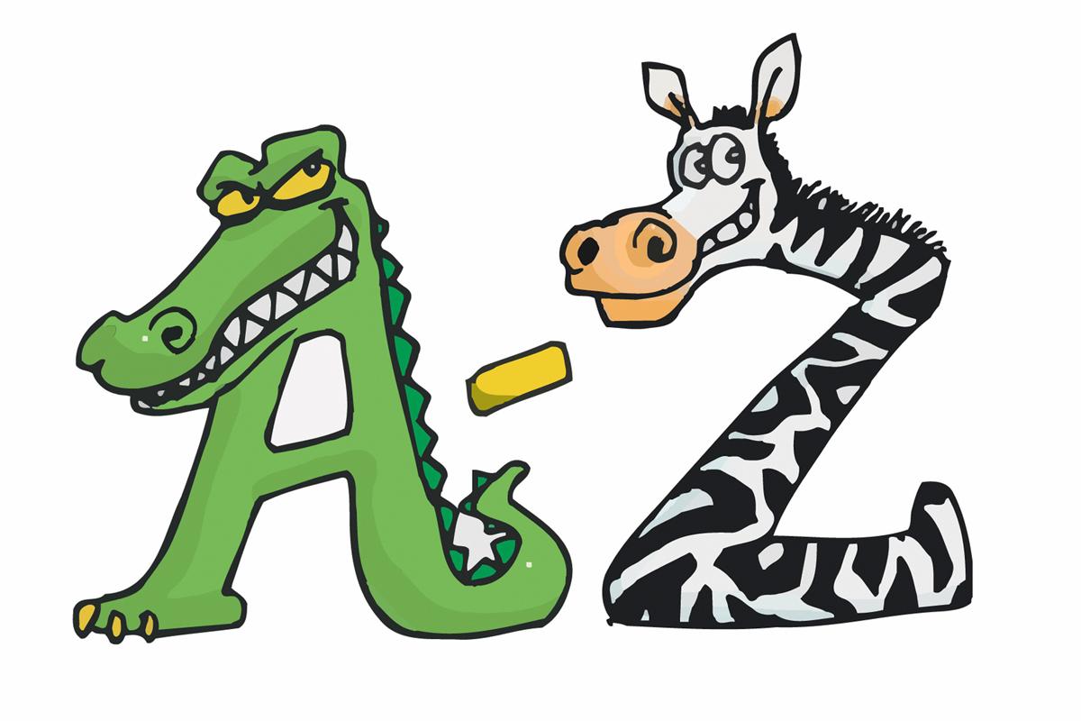 Sprachspiel Tier-Alphabet