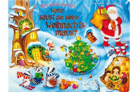 Mein großes Spurbuch – Wohin saust die Weihnachtsmaus?
