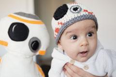 Star Wars-Babymütze