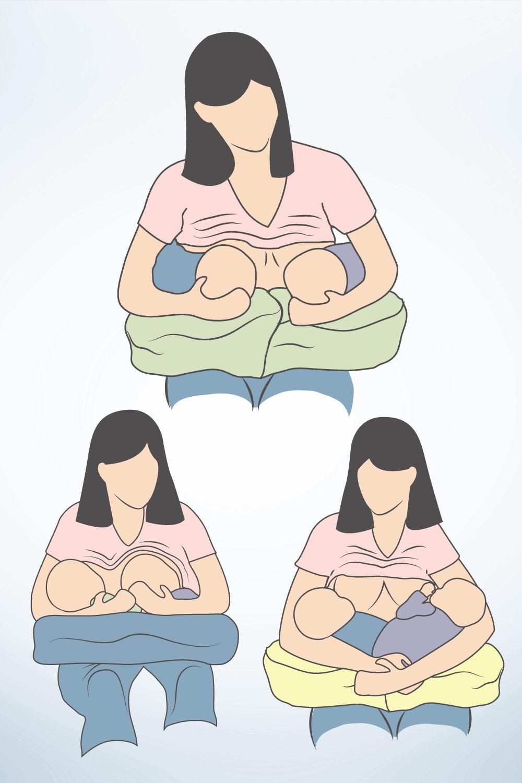 Stillpositionen für Zwillinge