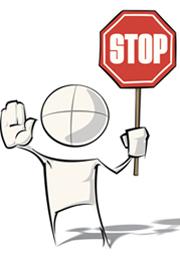 Grafik Stop-Schild