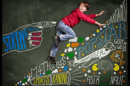 Stress bei Kindern Erwartungsdruck
