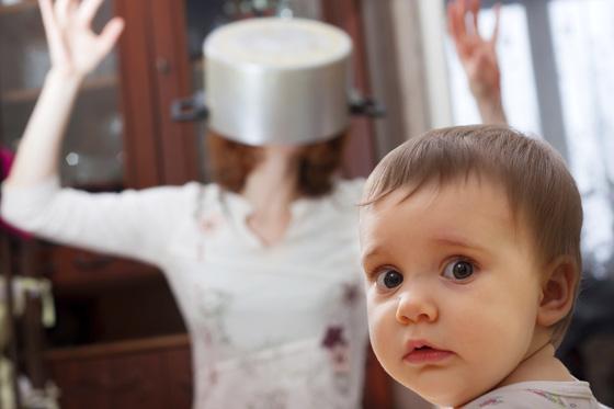 Kinder machen Frust und unglücklich