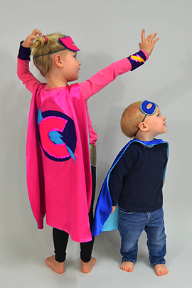 Umhang Nahen Fur Superhelden Kostum Familie De