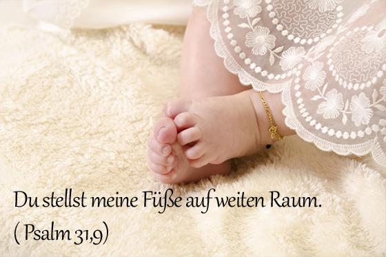 Taufspruch Psalm 31,9