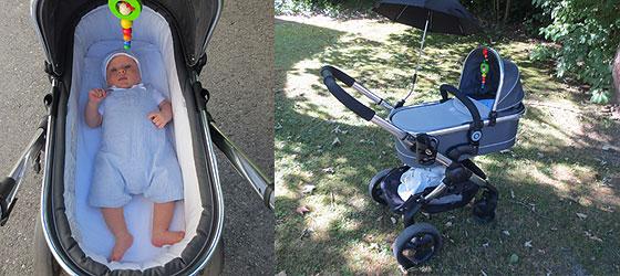 Baby im iCandy Kinderwagen