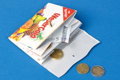 Geldbeutel aus Tetrapak basteln