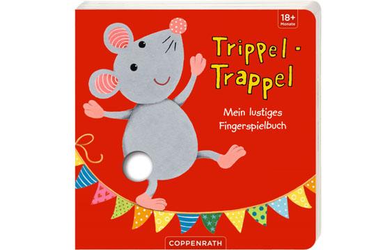 Buchtipp: Trippel-Trappel – Mein lustiges Fingerspielbuch von ELLA