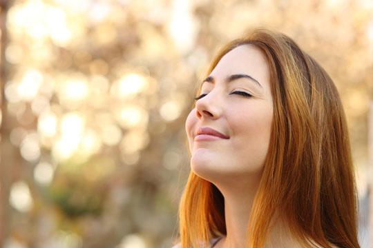 Übungen gegen Stress: Durchatmen