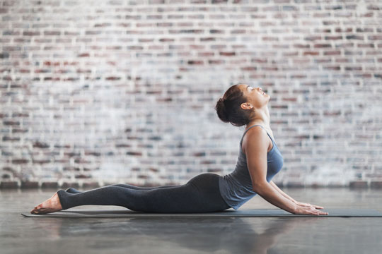 Übung gegen Stress: Energie im Fluss