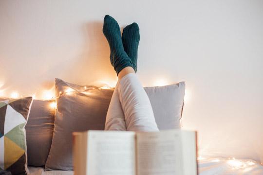 Übungen gegen Stress: Lesen