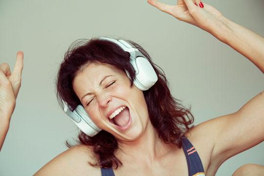 Übungen gegen Stress: Musik