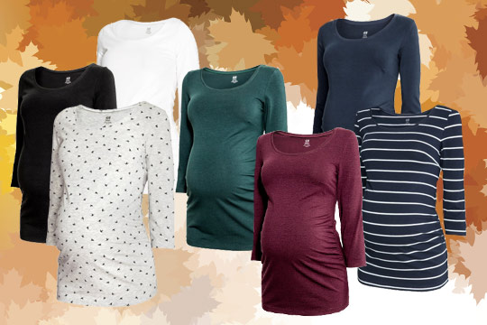 Basic-Shirts von H&M für den Herbst 2016