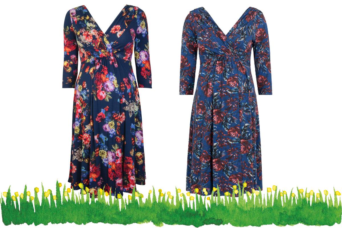 Umstandsmode Frühling 2017: Jerseykleid von Tiffany Rose