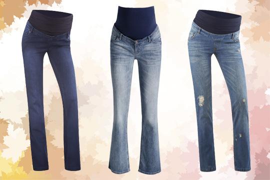 Jeans mit Oberbauchband für den Herbst 2015