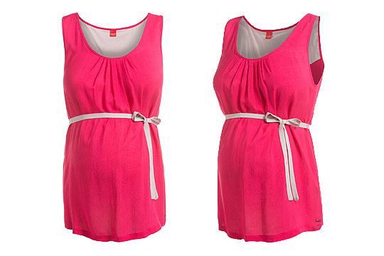 Umstandstunika in Pink von Esprit maternity