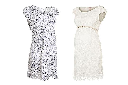 Romantische Umstandskleider für den Sommer