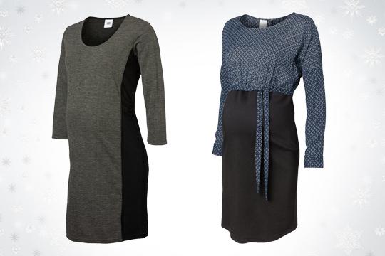 Umstandsmode Winter 2014: schicke Umstandskleider fürs Büro