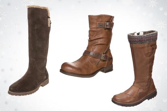 Umstandsmode Winter 2014: Dicke Schuhe mit rutschfester Sohle