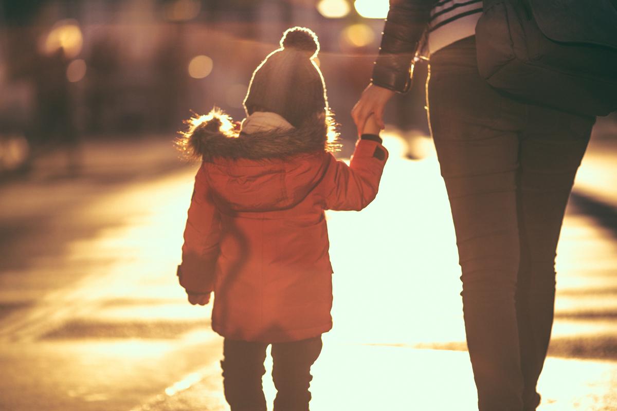 Unterhaltsvorschuss: Mutter mit Kind