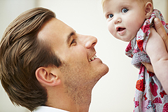 So gelingt die sichere Vater-Kind-Bindung