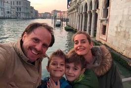 Familie Kromer in Venedig