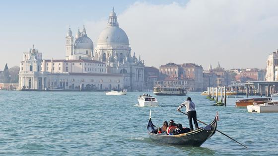 Venedig sehen un genießen