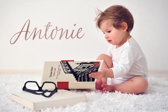 Vornamen aus Büchern: Antonie