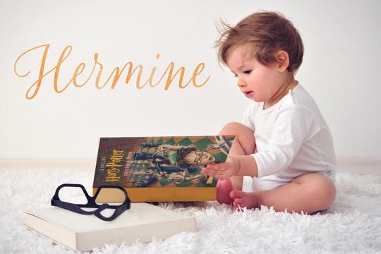 Vornamen aus Büchern: Hermine