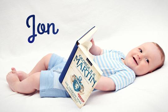 Vornamen aus Büchern: Jon