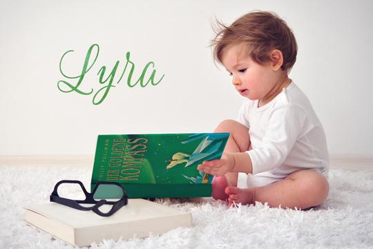 Vornamen aus Büchern: Lyra
