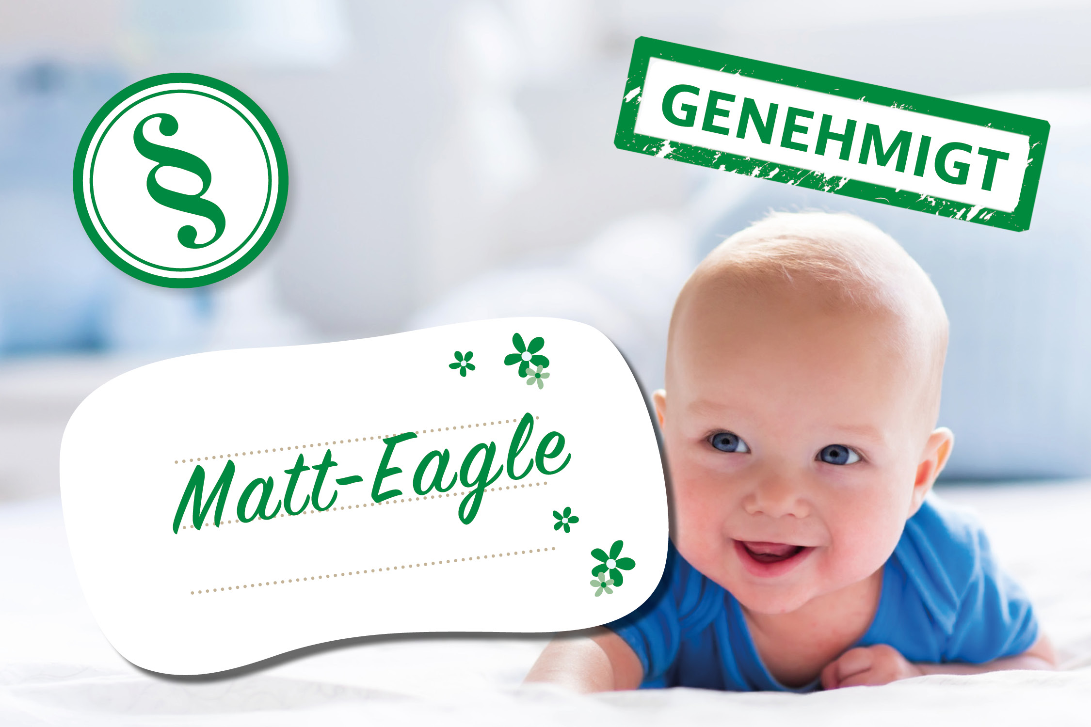 Lustige Vornamen: Matt Eagle