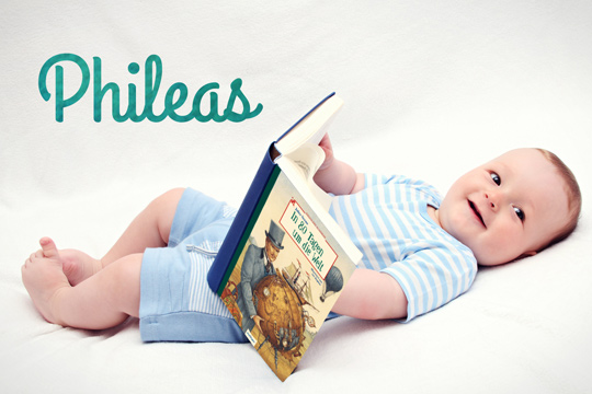 Vornamen aus Büchern: Phileas