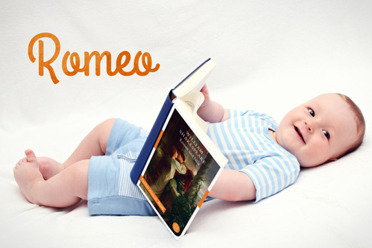 Vornamen aus Büchern: Romeo