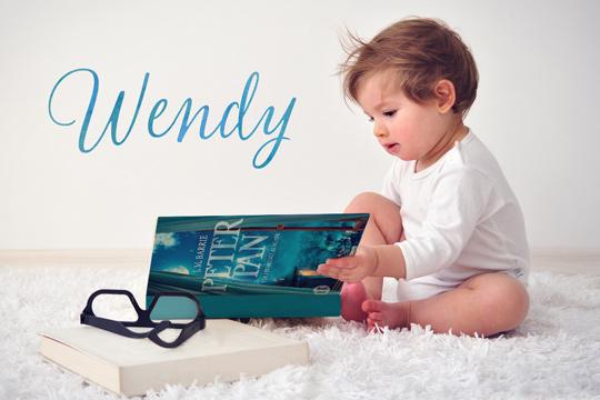 Vornamen aus Büchern: Wendy
