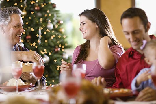 Erstes Weihnachten: Familienbesuch