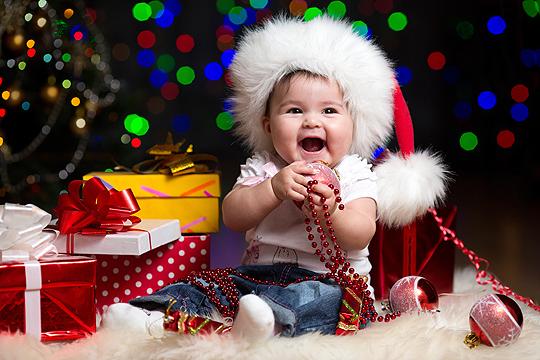 Erstes Weihnachten: Geschenke fürs Baby