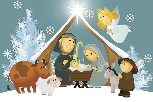 Erstes Weihnachten: Kirche