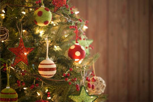 Weihnachtsbaum ohne Lametta