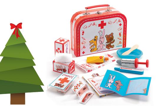 Weihnachtsgeschenke für Kinder: Ein Arztkoffer als Weihnachtsgeschenke Klassiker für die Kleinen
