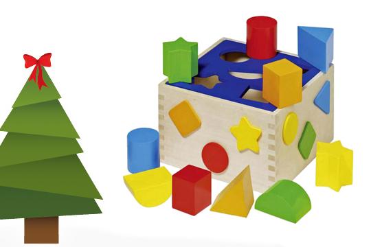 Weihnachtsgeschenke für Kinder: Bauklötze als Weihnachtsgeschenke Klassiker für die Kleinen