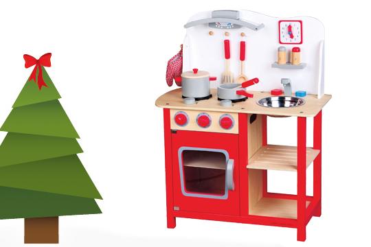 Weihnachtsgeschenek für Kinder: Kinderküche als Weihnachtsgeschenke Klassiker