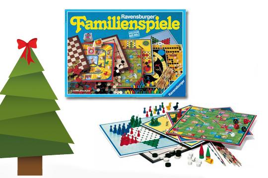 Weihnachtsgeschenke Klassiker: Spielesammlung