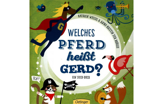 Buchtipp: Welches Pferd heißt Gerd?