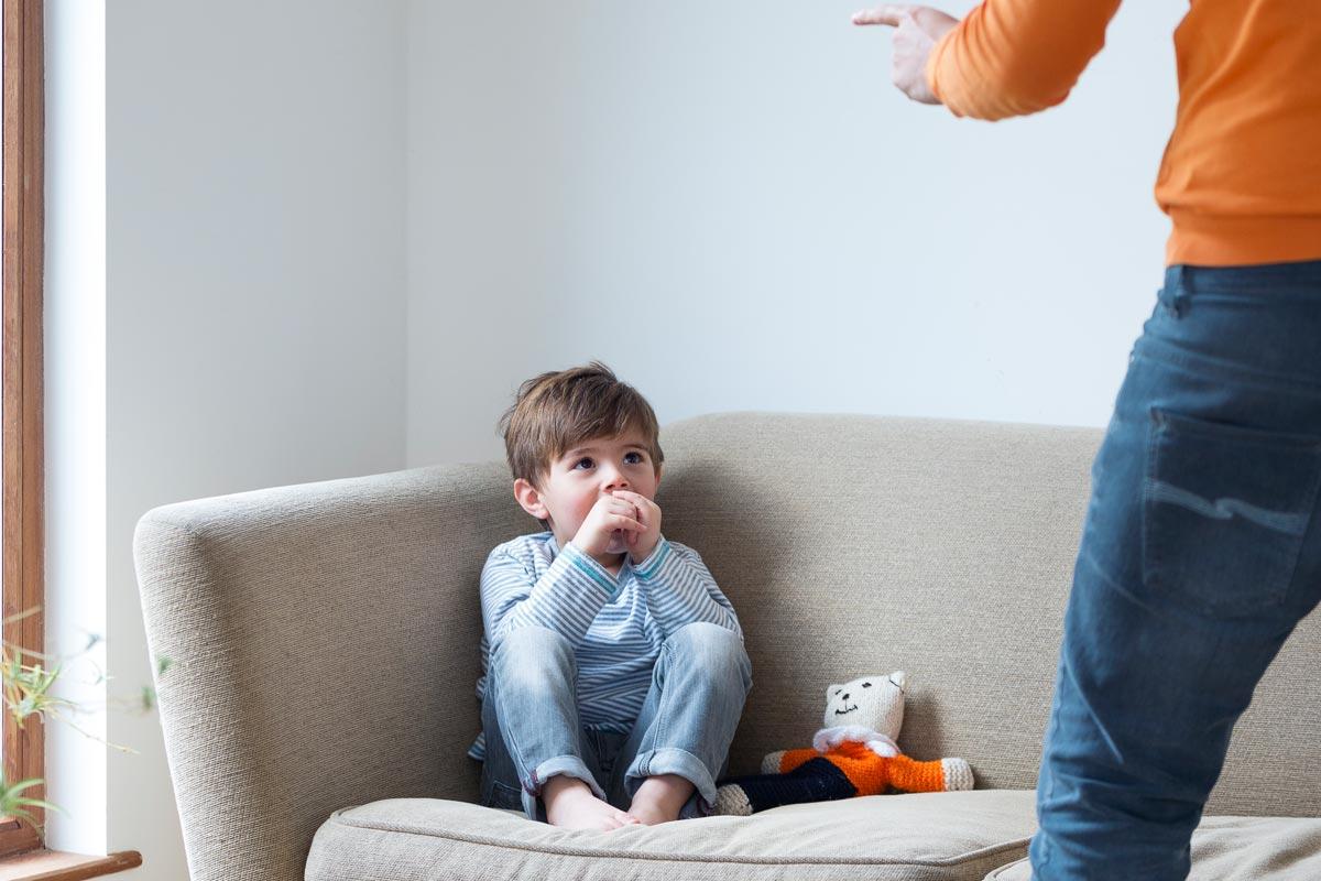 Wie schlimm ist, sein Kidn anzuschreien?