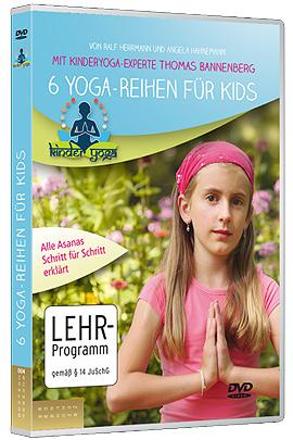 """""""6 Yoga-Reihen für Kids. Mit Kinderyoga-Experte Thomas Bannenberg"""""""