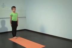 Yoga für Kinder: Krieger/Held