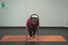 Yoga für Kinder: Stern