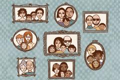 Familie der Zukunft