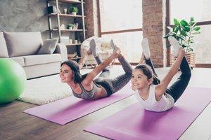 Ob daheim oder im Fitnessstudio: Hauptsache Sport
